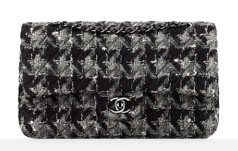 Chanel-Tweed-Flap-Bag-Black-3600