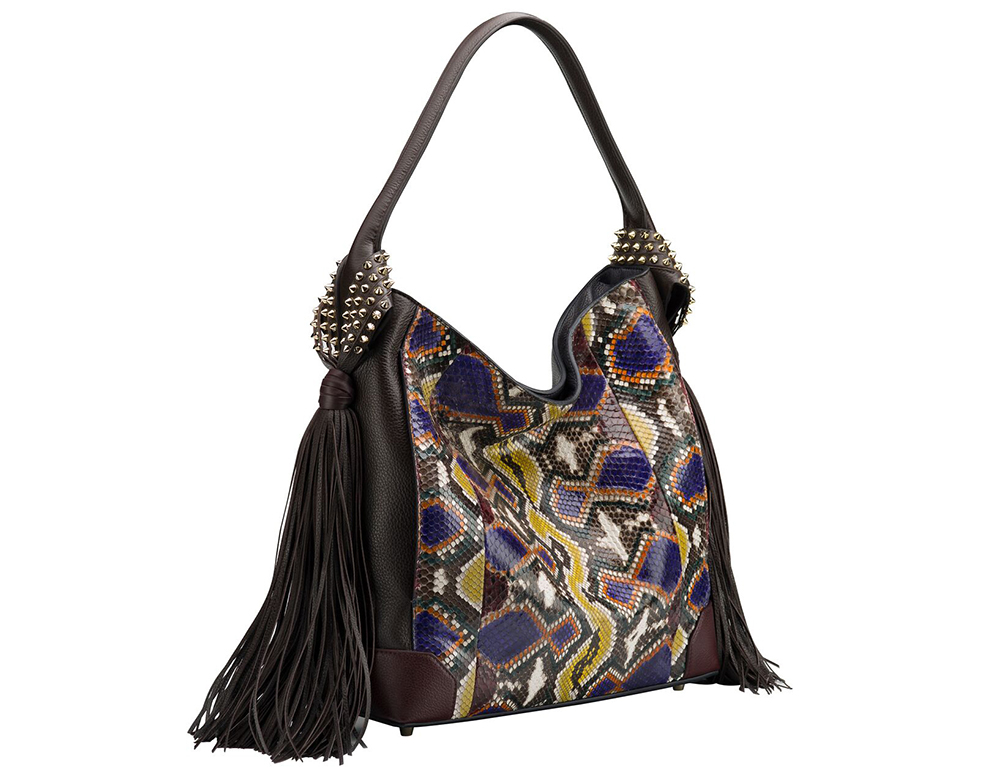Christian Louboutin Eloise Hobo Python Bag