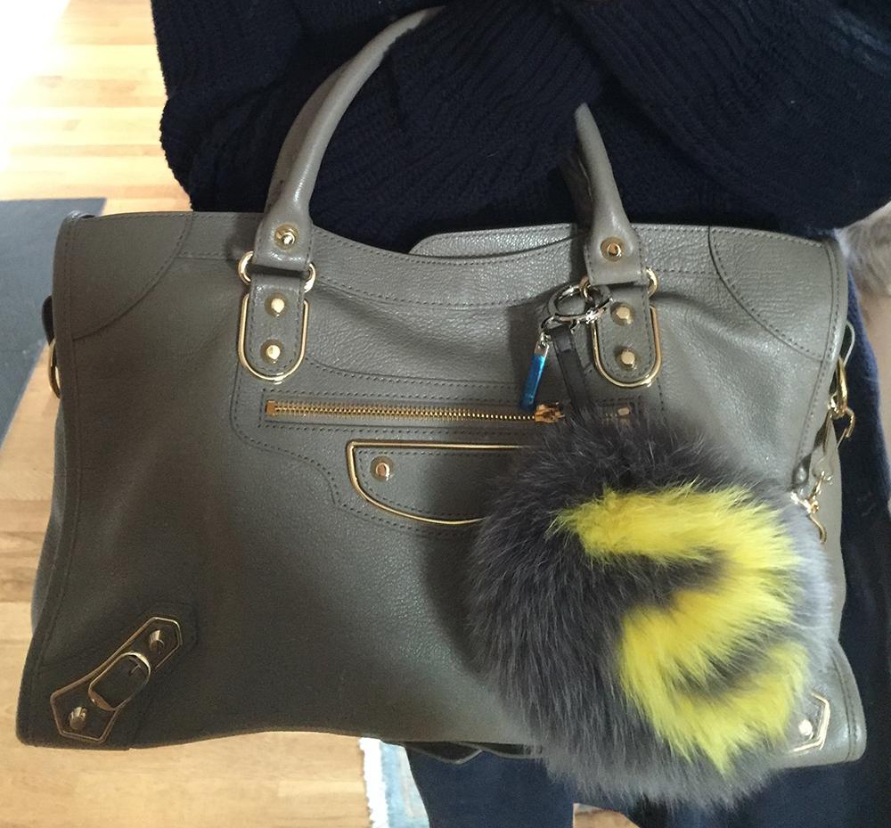 tPF Member: Harper Quinn  Bag: Balenciaga Holiday Collection Metal Edge City Bag  Shop: $2,125 via Balenciaga