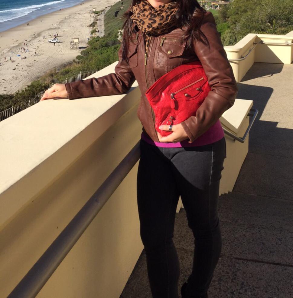 tPF Member: Irissy  Bag: Balenciaga Premier Clutch  Shop: Similar styles via Balenciaga