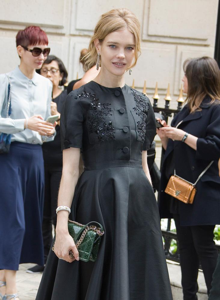 Natalia-Vodianova-Dior-Diorama-Bag