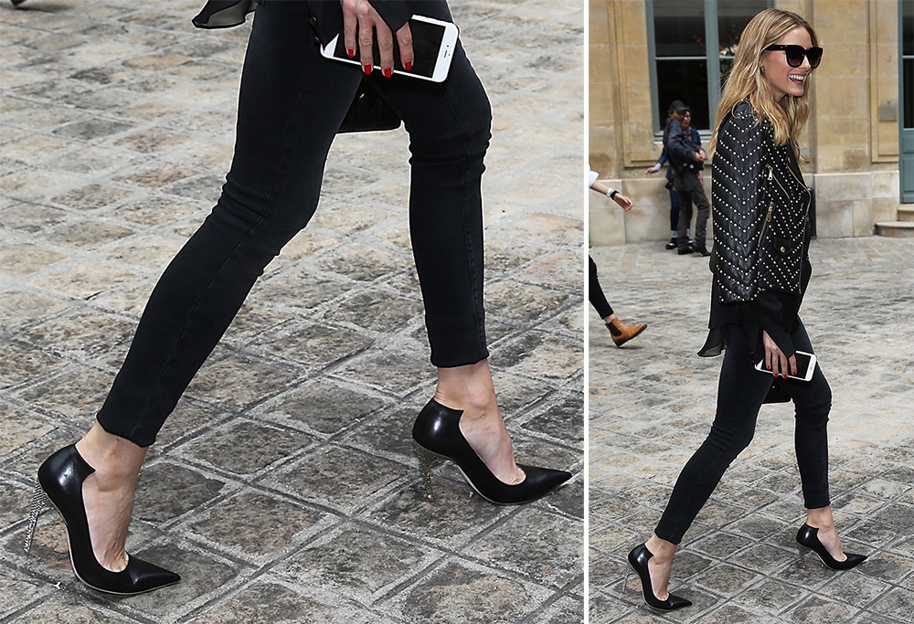 Olivia-Palermo-Dior-Crystal-Heel-Leather-Pumps