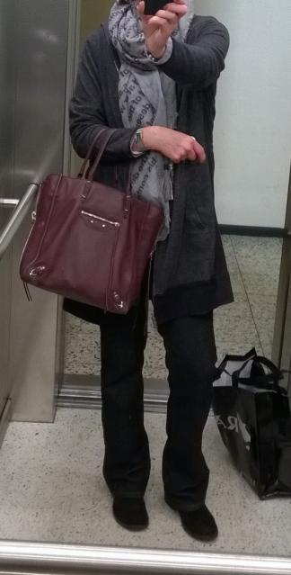 tPF Member: Pollie-Jean Bag: Balenciaga Papier A5 Zip Around Tote Shop: $1,765 via Barneys
