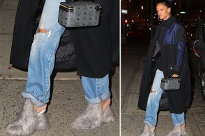 Rihanna Loves Wild Shoes and We Love Her For It
