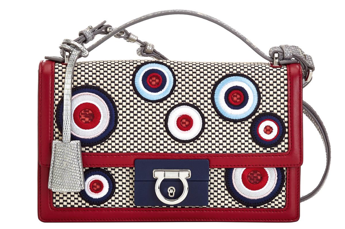 Salvatore Ferragamo Lock Story Paris Bag