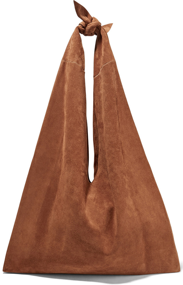 The-Row-Knot-Suede-Hobo