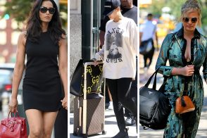 Celebs Step Out with Bags from Chloé, Versace, Stella McCartney, & More