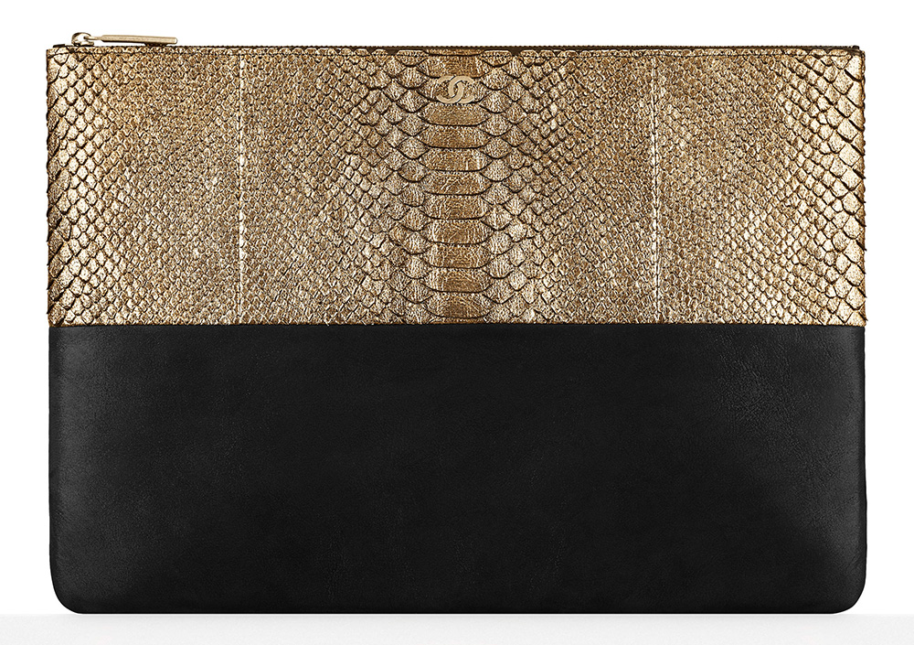 Chanel-Large-Python-Pouch-1775