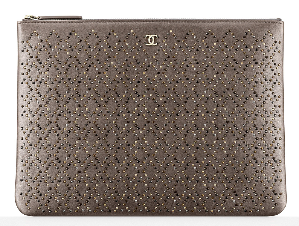 Chanel-Studded-Pouch-1450