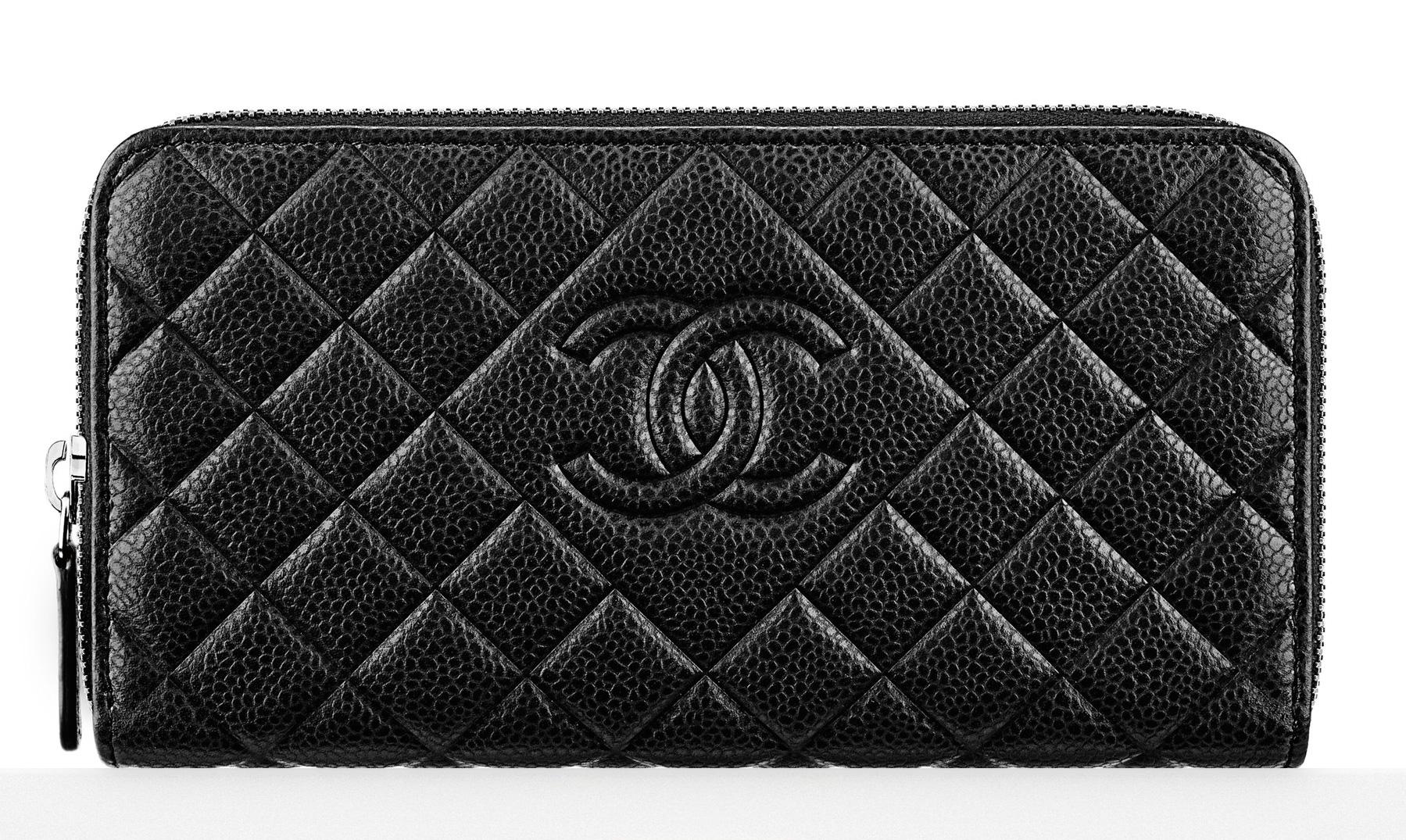 Chanel-Zipped-Wallet-Black-1000