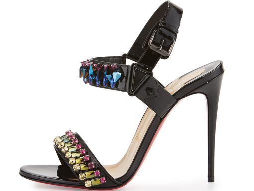 Christian Louboutin Sova Broda Jeweled Sandal