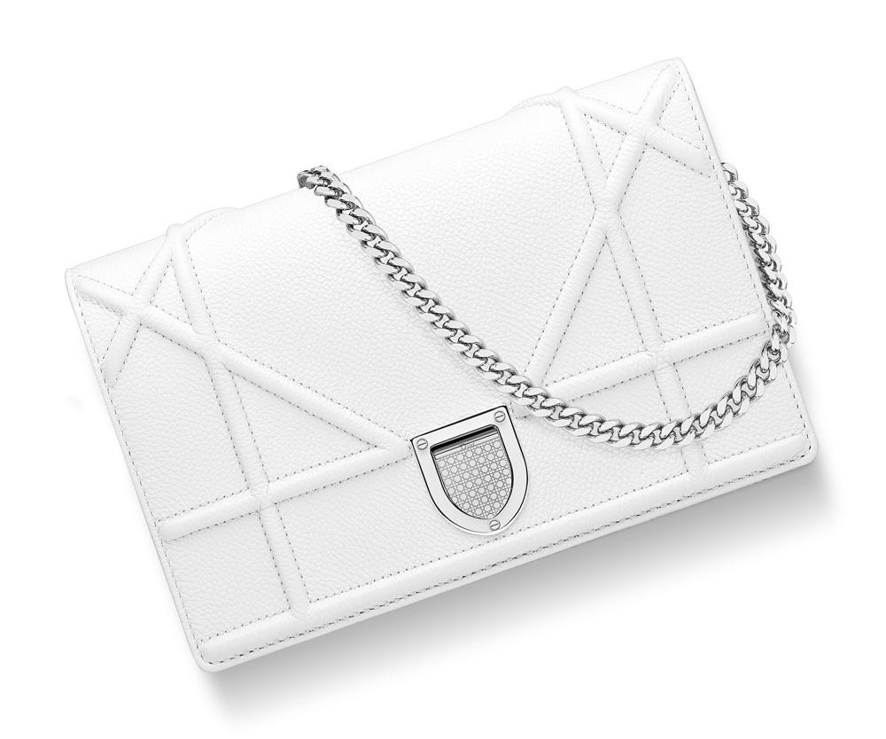 Dior-Diorama-Chain-Wallet-White