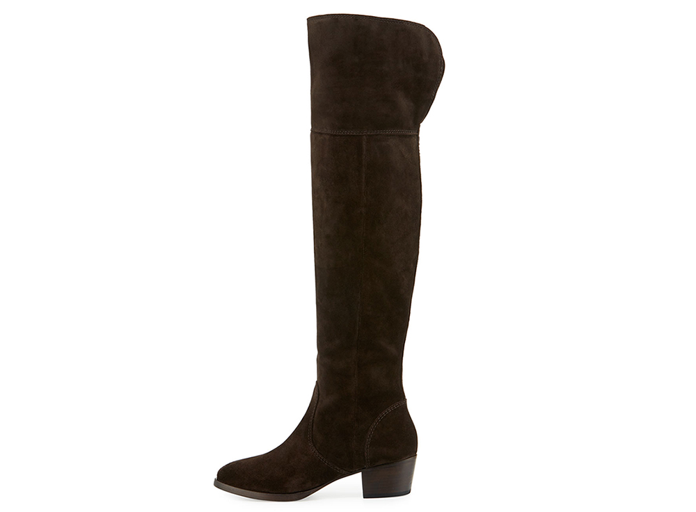 Frye Clara Suede Over-The-Knee Boot