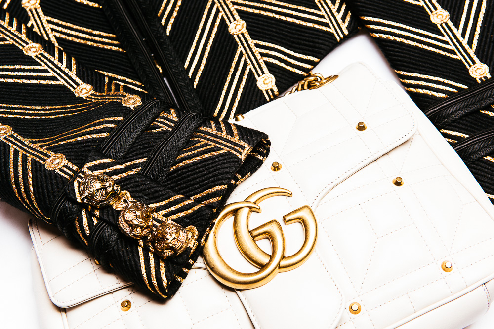 Gucci GG Marmont Matelassé in White