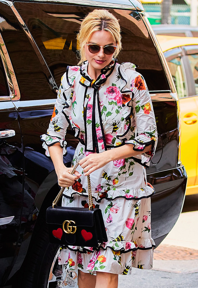 Margot-Robbie-Gucci-Shoulder-Bag