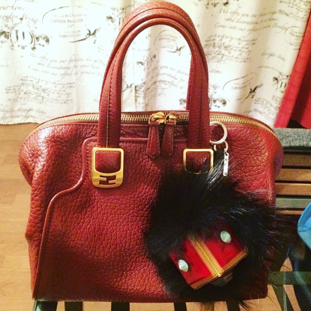 tPF Member: Dangerouscurves Shop Bag Charm: $636 via BlueFly Bag: Fendi Chameleon Tote Shop: $1,064 via Vestiaire Collective
