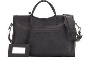 Love It or Leave It: Balenciaga's Stud-Free Blackout AJ City Bag