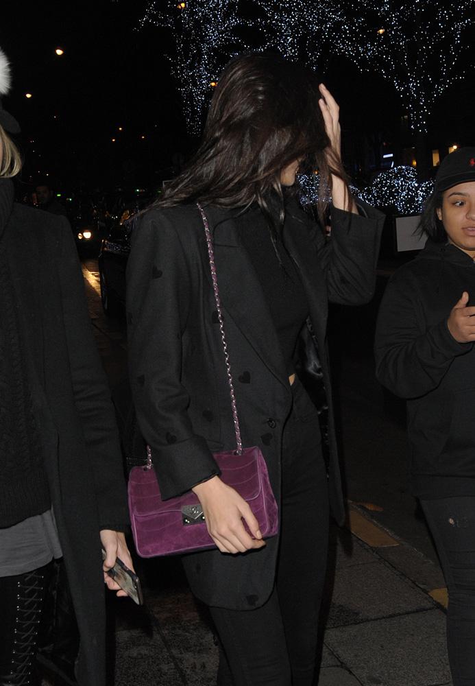 Bella-Hadid-Chanel-Suede-Flap-Bag