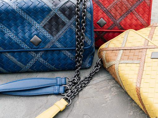 Bottega Veneta Olimpia Intrecciato Bags