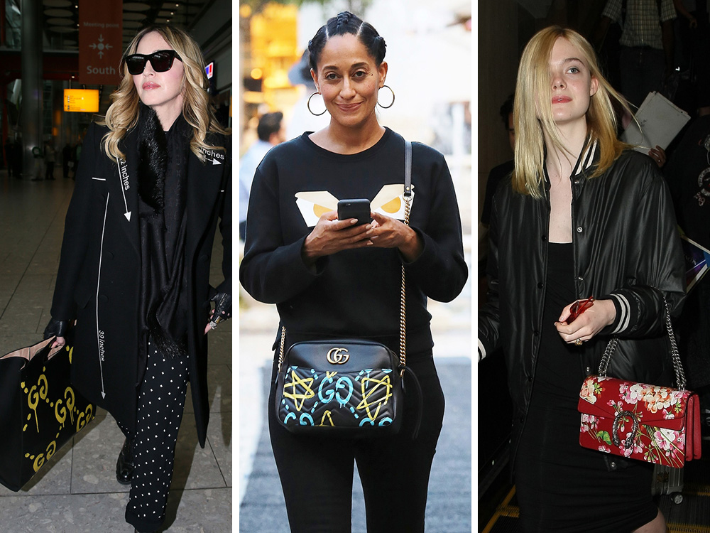 Gucci S New Look Is A Big Hit Among Celebrity Bag Lovers