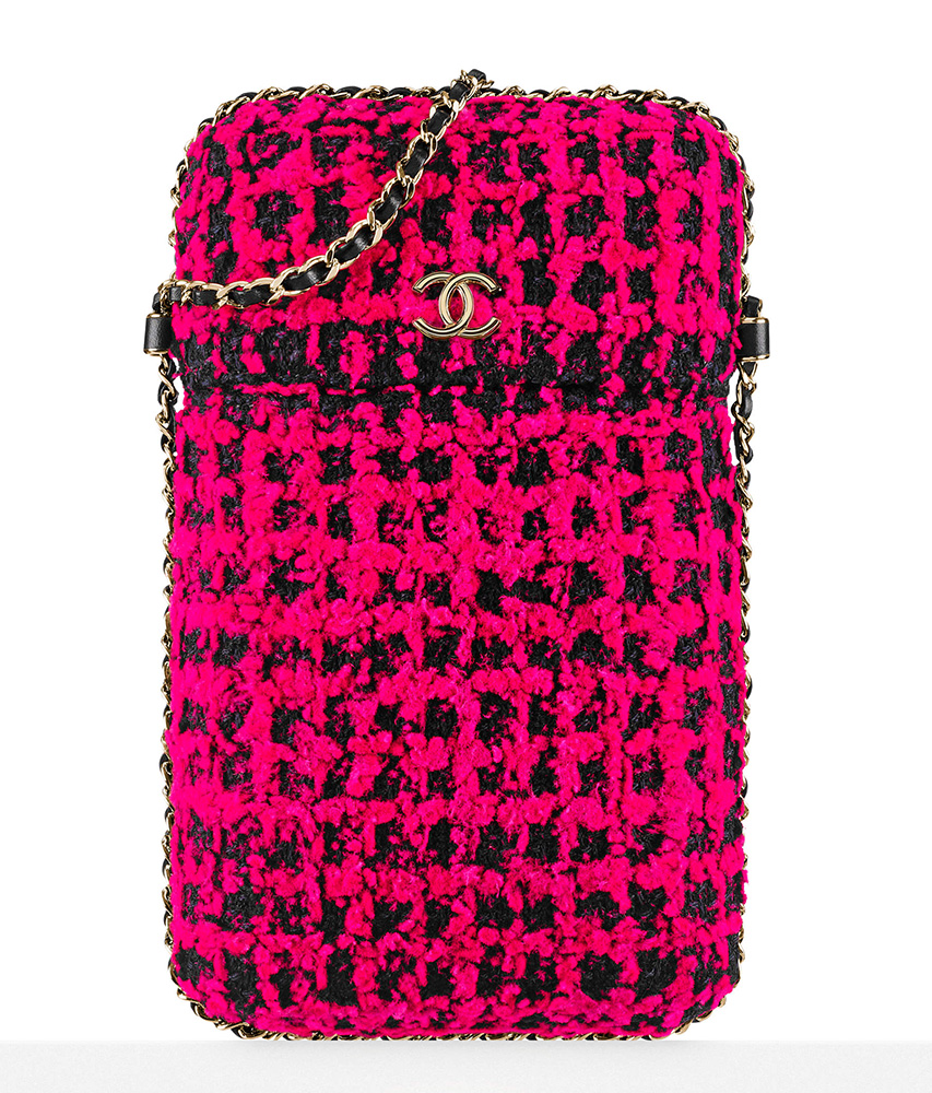 chanel-tweed-phone-holder-pink-black-1750