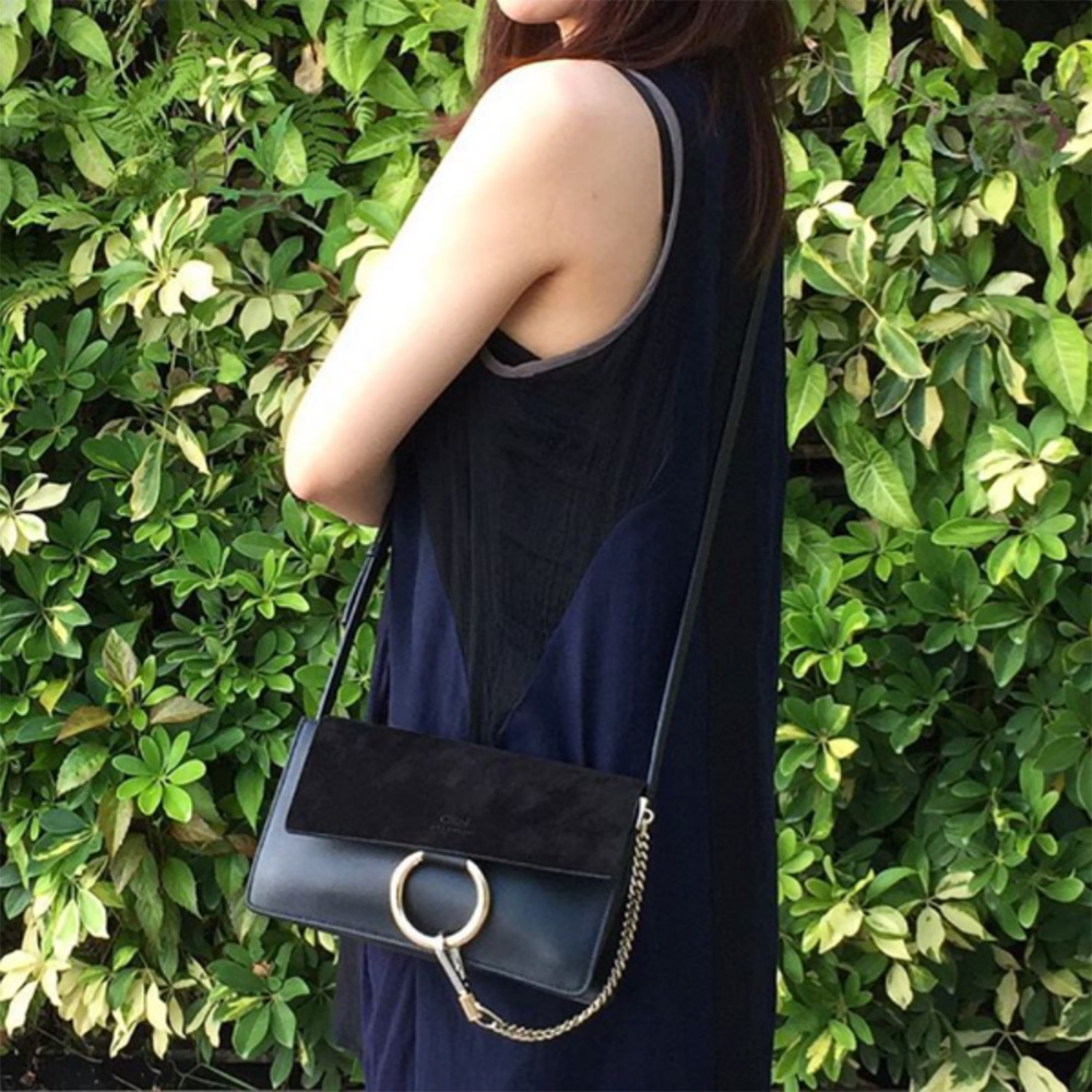 tPF Member: Dollygirl Bag: Chloé Faye Small Leather and Suede Bag Shop: $1,390 via Net-a-Porter