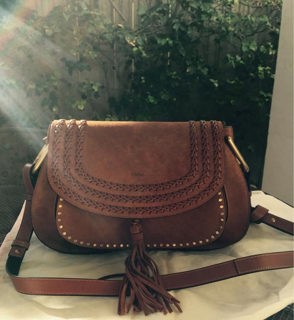 tPF Member: Grnbri  Bag: Chloé Hudson Whipstitched Shoulder Bag Shop: Similar styles via Net-a-Porter
