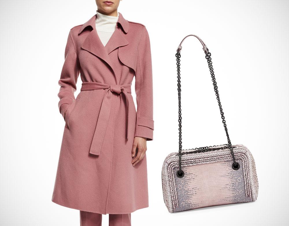 Perfect Pairs Theory Coat Bottega Veneta Bag