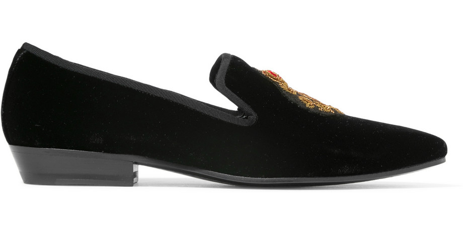 saint-laurent-deven-embroidered-velvet-loafers
