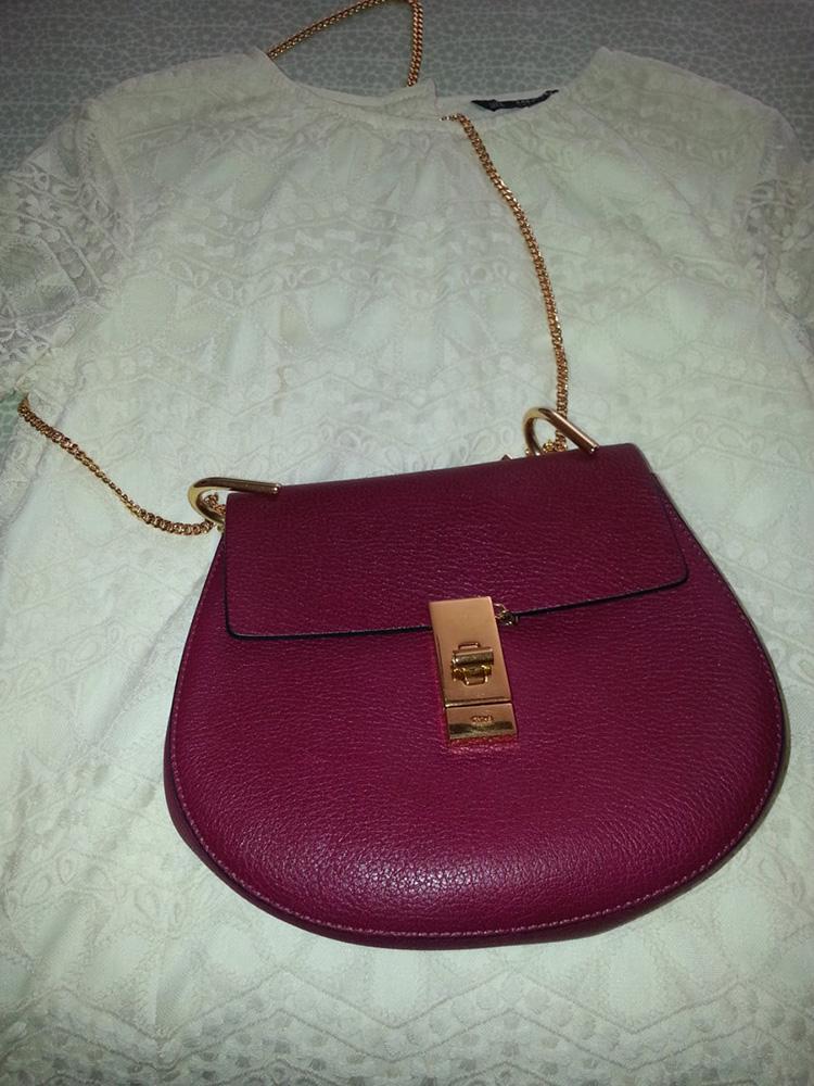 tPF Member: Vilette21c Bag: Chloé Drew Bag  Shop: $1,650 via Neiman Marcus