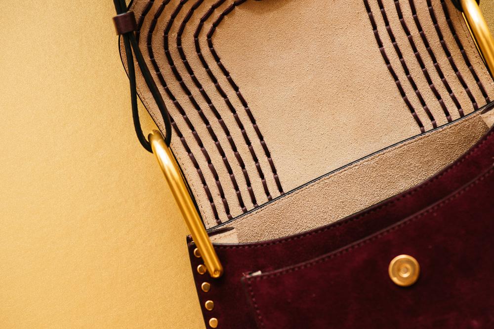 Chloé Hudson Small Suede Bag 4