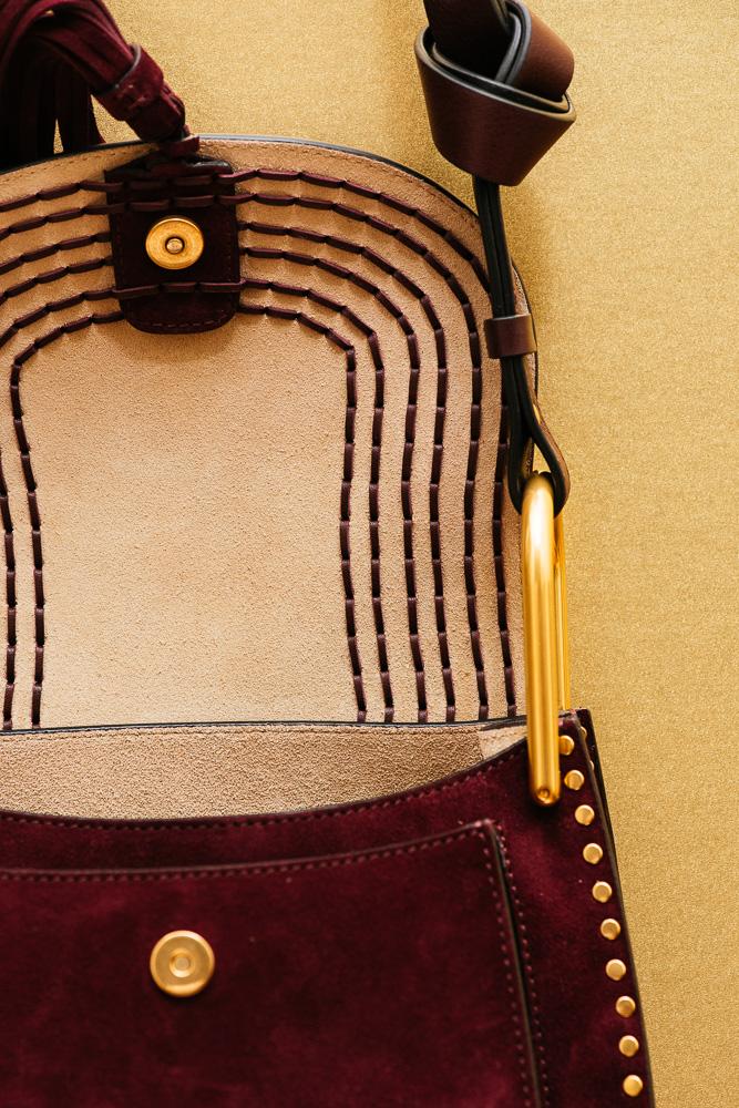 Chloé Hudson Small Suede Bag 5