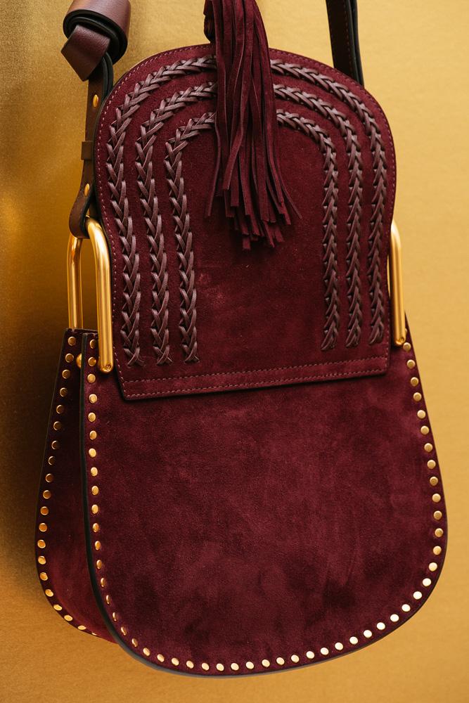 Chloé Hudson Small Suede Bag 6