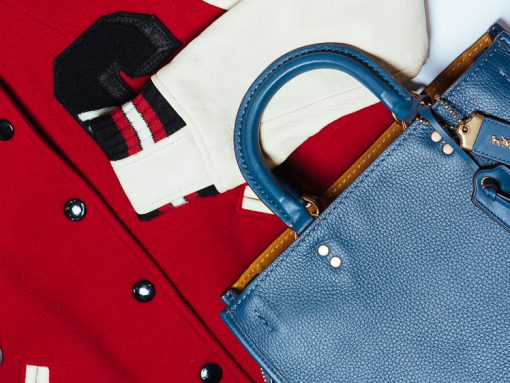 Coach Rogue Bag and Varsity Jacket