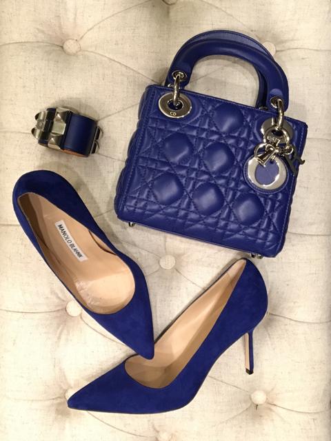 tPF Member: FancyMeFresh  Bag: Dior Mini Lady Dior Bag  Shoes: Manolo Blahnik BB Pumps