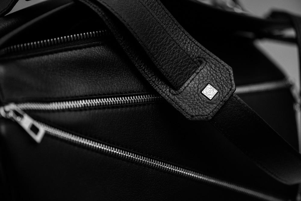 Loewe Puzzle Zips Leather Satchel Bag 2