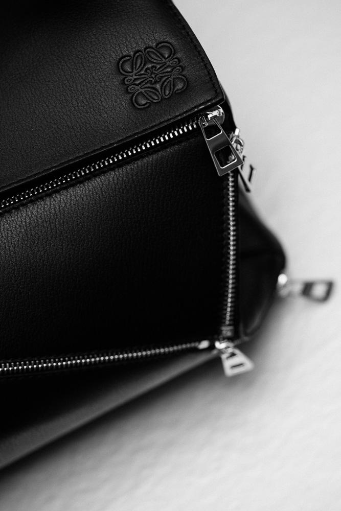 Loewe Puzzle Zips Leather Satchel Bag 4