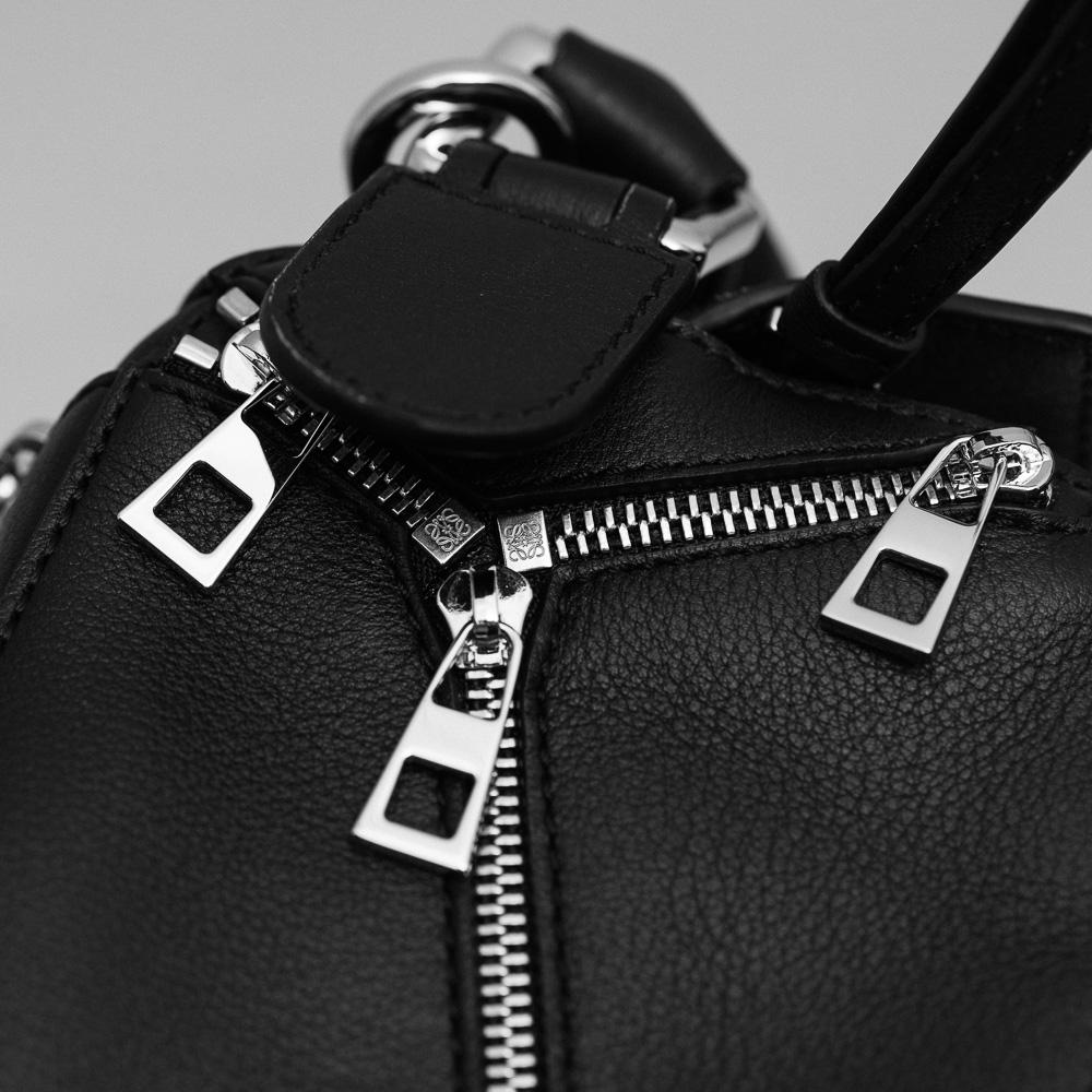 Loewe Puzzle Zips Leather Satchel Bag 5