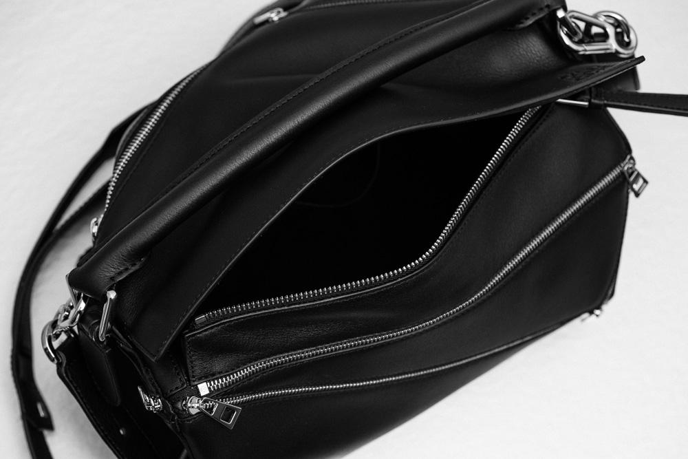 Loewe Puzzle Zips Leather Satchel Bag 6