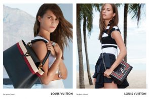 Check Out Louis Vuitton's Cruise 2017 Ad Campaign and Several of the Collection's New Bags