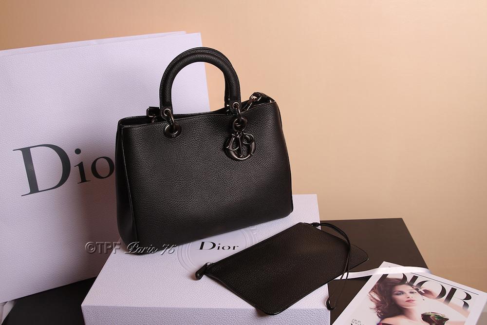 tPF Member: Paris75 Bag: Dior So Black Diorissimo Bag