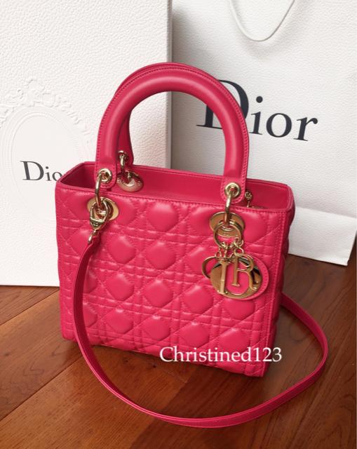 tPF Member: Christined123 Bag: Dior Lady Dior Bag