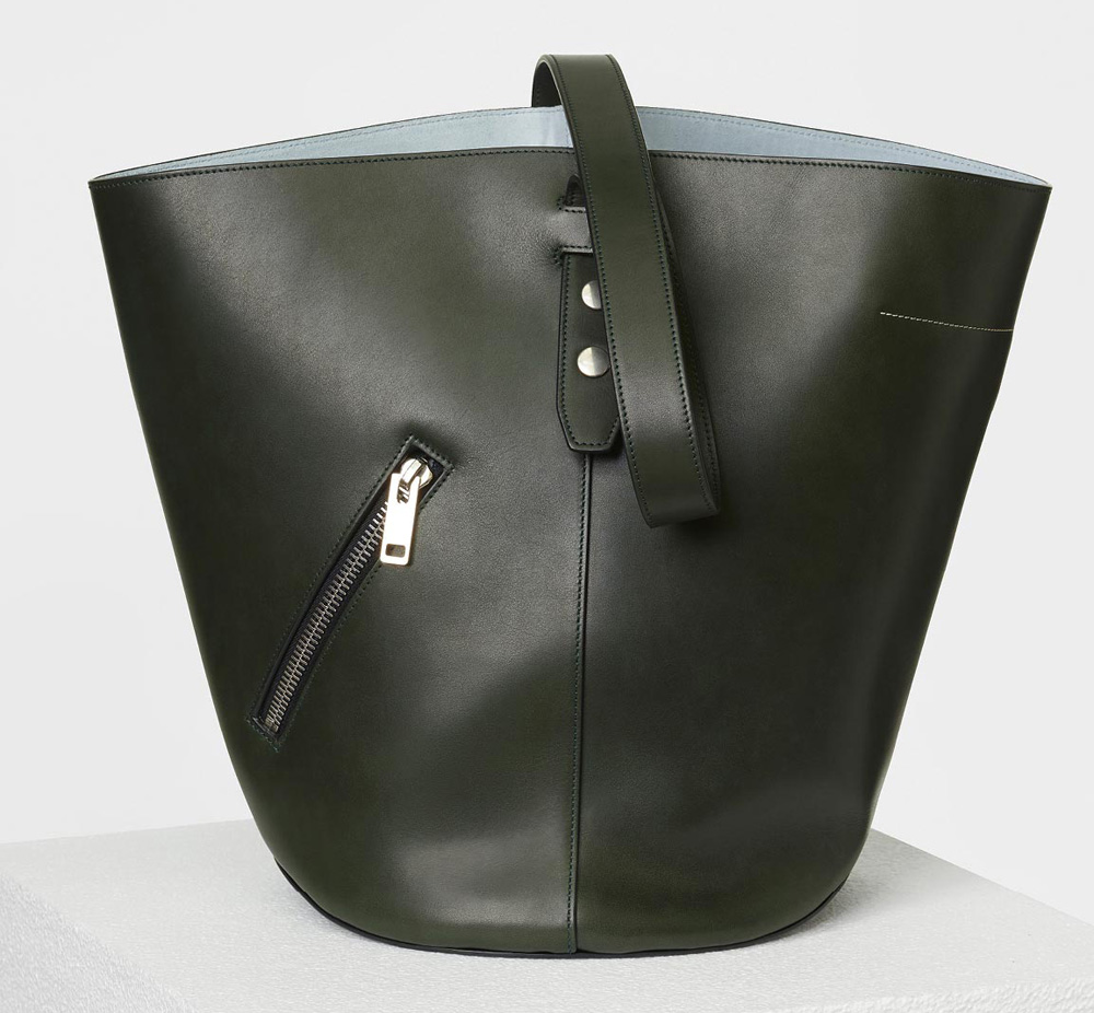 celine-bucket-biker-shoulder-bag-dark-green-3400