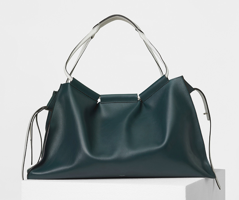 celine-large-sloutchy-tote-green-4350