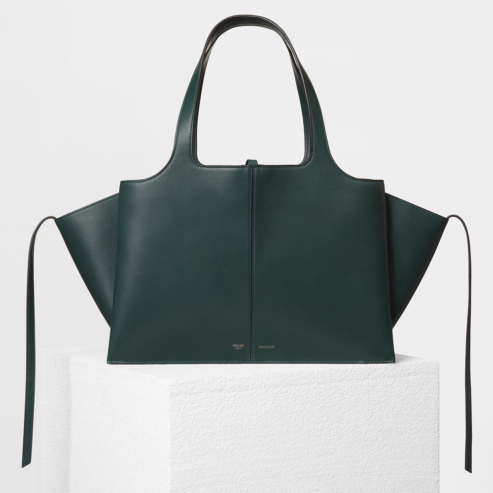 celine-medium-trifold-shoulder-bag-green-3100