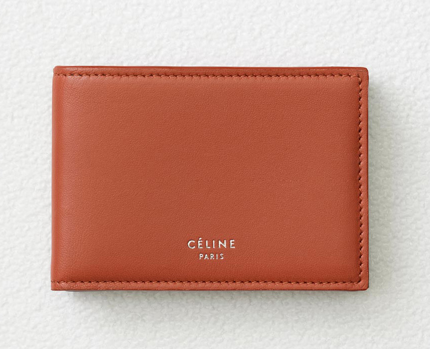 celine-solo-folded-card-holder-terracotta