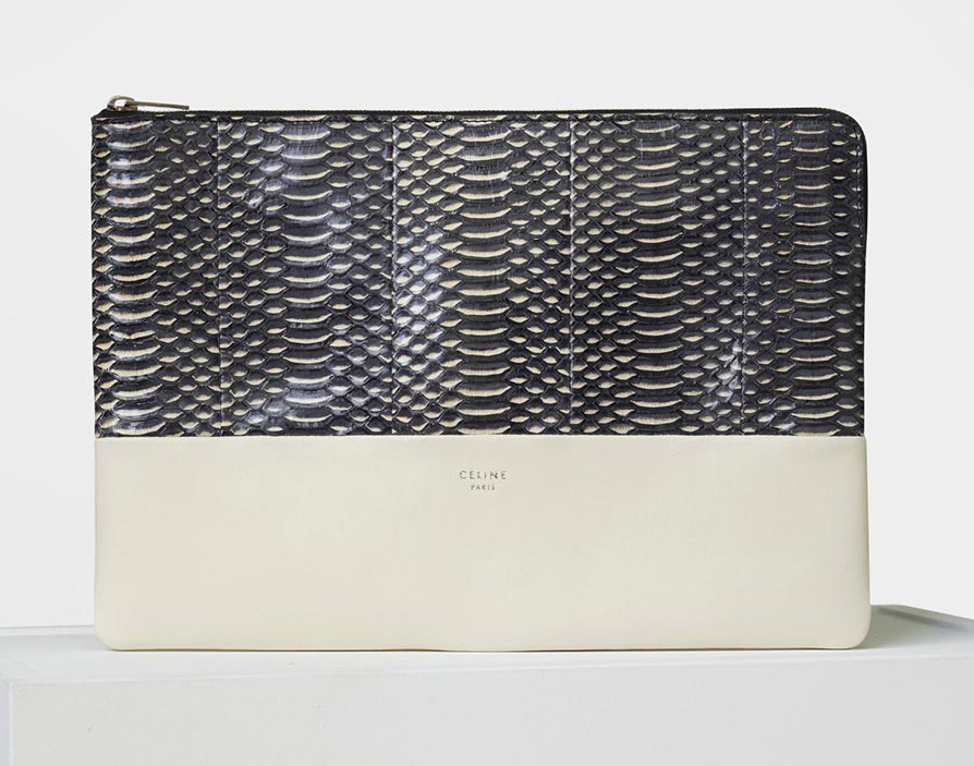celine-solo-large-clutch-pouch-black-snake