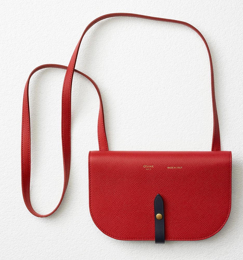 celine-strap-clutch-red