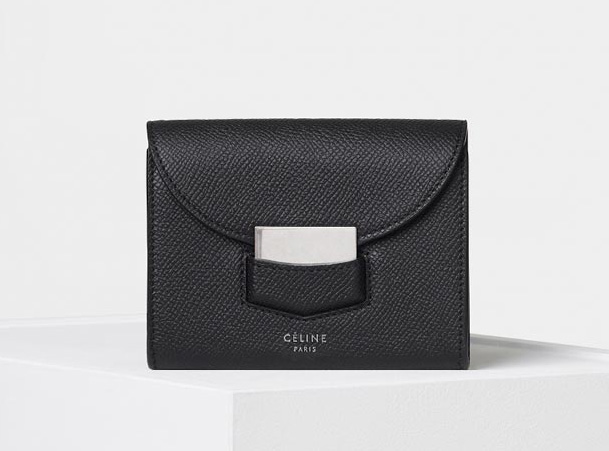 celine-trotteur-gusset-card-holder-black