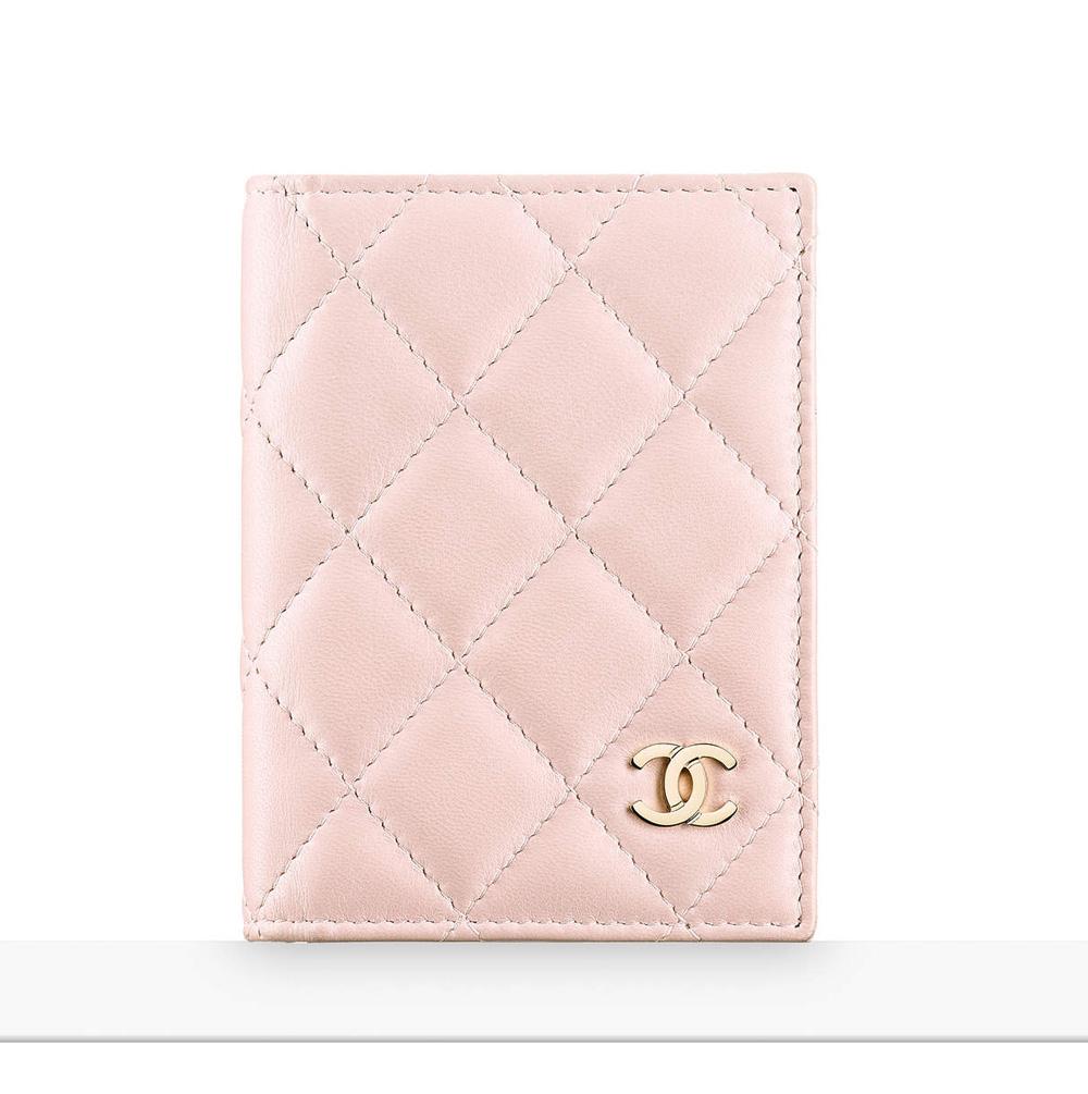 chanel-card-holder-pink-450